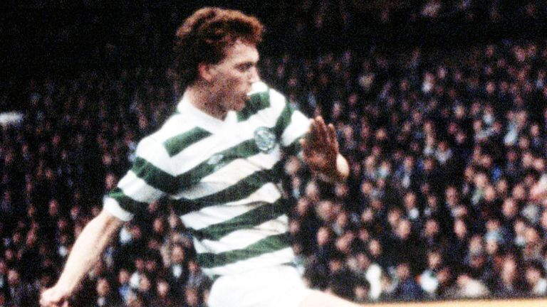 David Moyes in action for Celtic in 1980