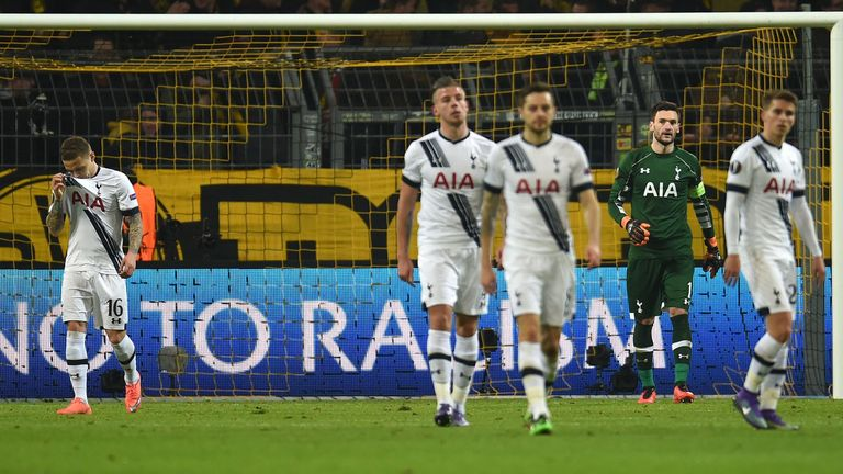 Spurs defence