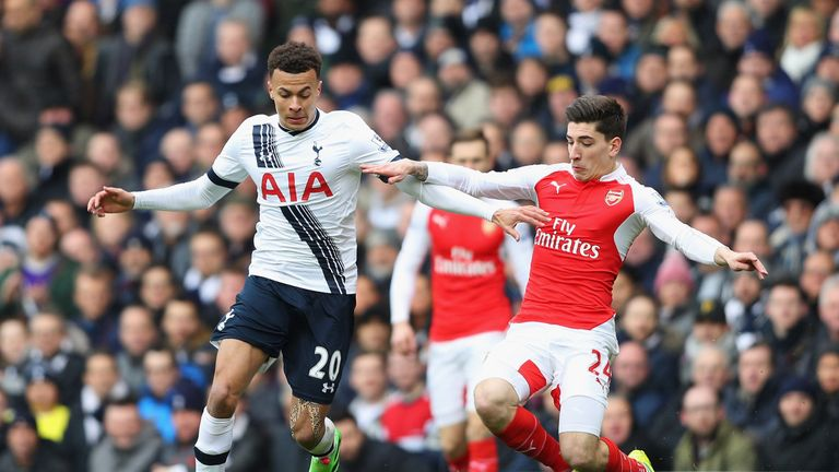 Alli managed the full 90 minutes against Arsenal at White Hart Lane