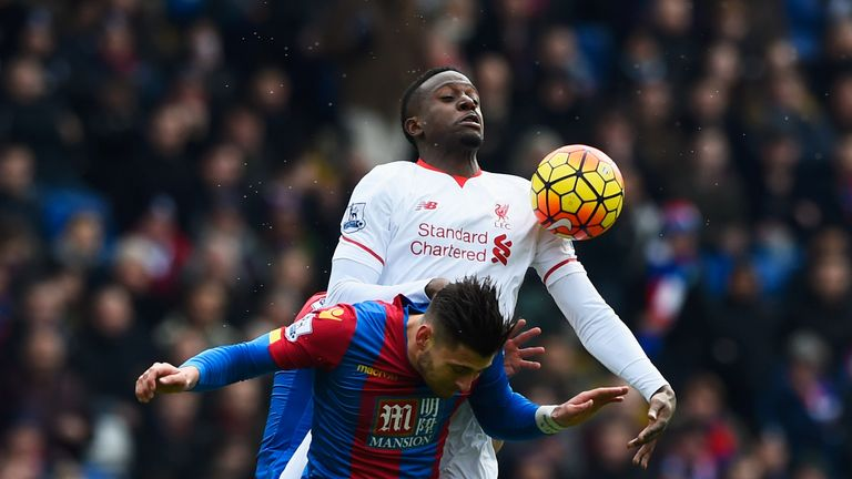 Divock Origi was preferred to Benteke once again by manager Jurgen Klopp