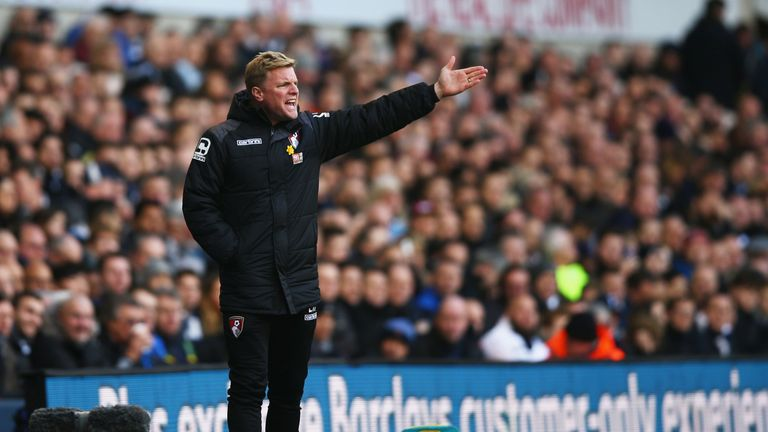 Eddie Howe's Bournemouth were humbled at Tottenham