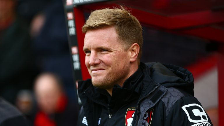 At 38 years old, Eddie Howe is one of the Premier League's youngest managers