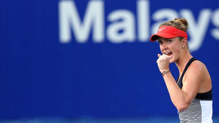 Radwanska will now face Elina Svitolina in the final at New Haven