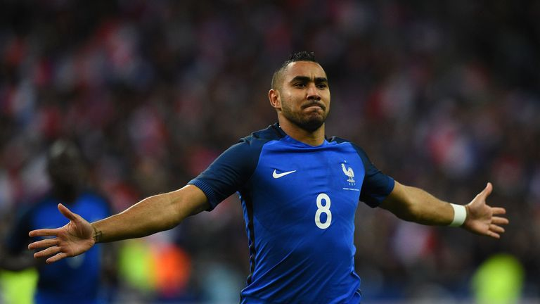 Dimitri Payet scored with his first touch for France v Russia