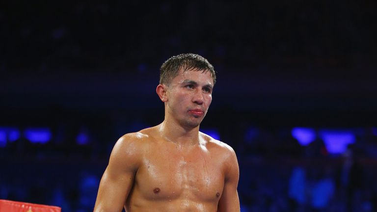 Gennady Golovkin is preparing to defend his titles against Dominic Wade