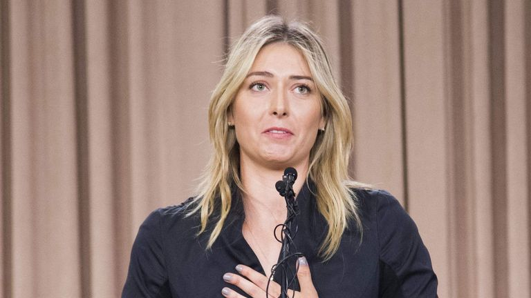 Maria Sharapova revealed she had tested positive for meldonium earlier this month