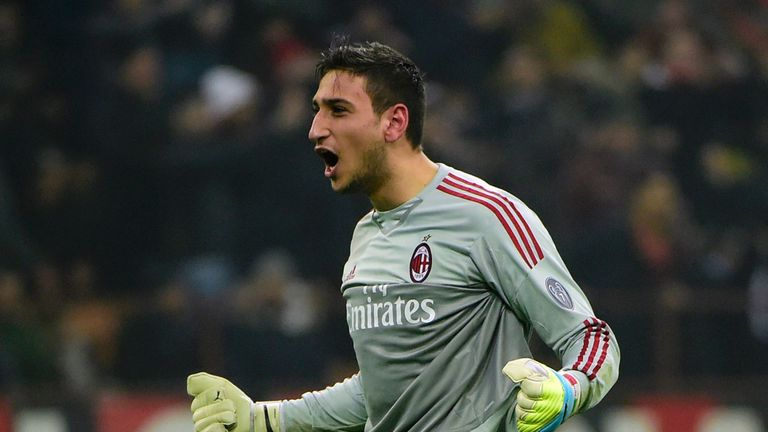 Italy Include 17 Year Old Goalkeeper Gianluigi Donnarumma In Squad Football News Sky Sports