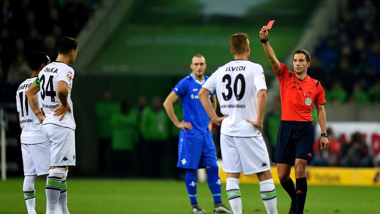 Indiscipline has been a problem for Xhaka in Germany, he has been sent off six times in less than two years