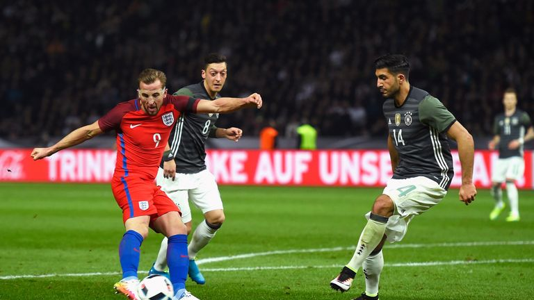 Kane scored England's opening goal in the 3-2 win over Germany