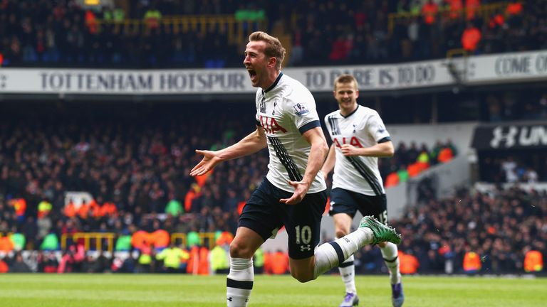 Kane's strike against Arsenal was a contender for goal of the season