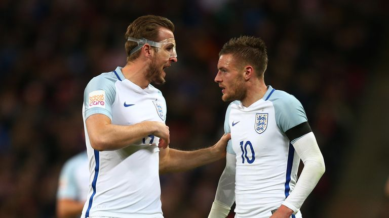 Harry Kane and Jamie Vardy impressed during England's recent matches