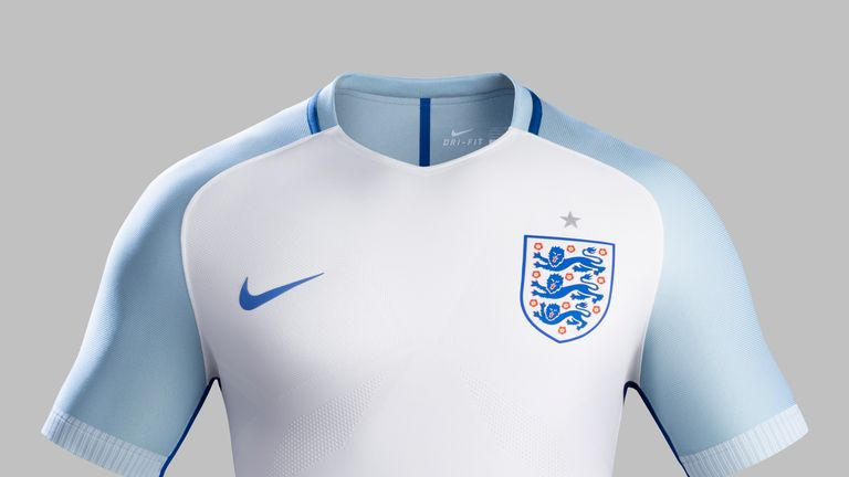 promo code 55fb3 1beaf England unveil new home and away kits for Euro 2016 in ...