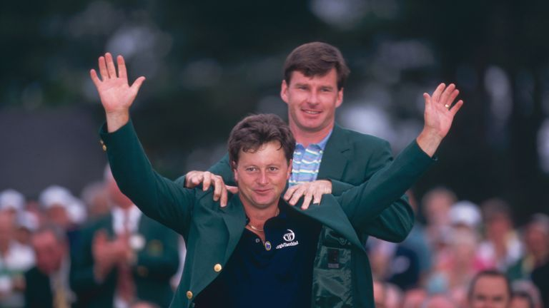 Ian Woosnam snatched Faldo's Masters title and his world No 1 ranking in 1991