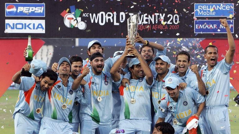 India won the first World T20 in South Africa in 2007