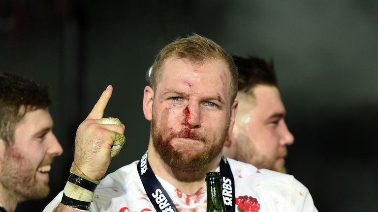 Haskell earned a Six Nations Grand Slam with England in 2016