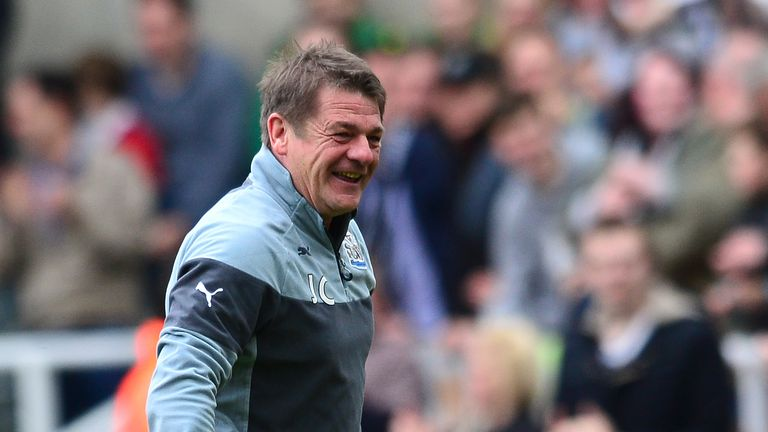 Former Newcastle manager John Carver helped the side stay in the Premier League last season