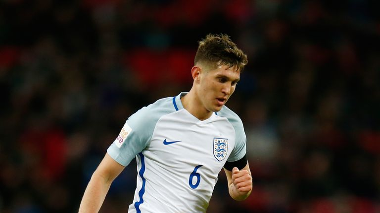 John Stones is a target of Manchester City