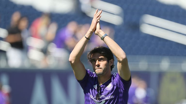 Kaka is Orlando City's captain, and has played in America since 2015
