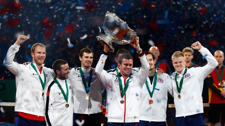 Great Britain are the reigning Davis Cup champions