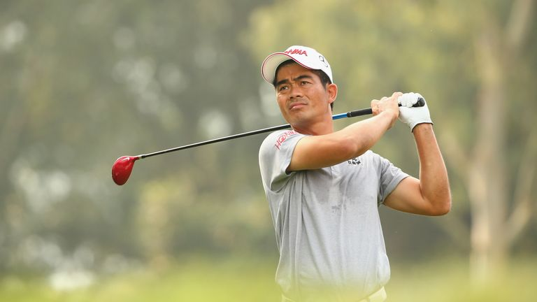 Liang Wen-Chong is China's highest ranked male golfer at 171st in the world