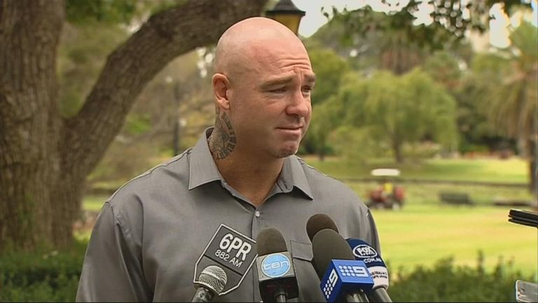 Lucas Browne is determined to clear his name
