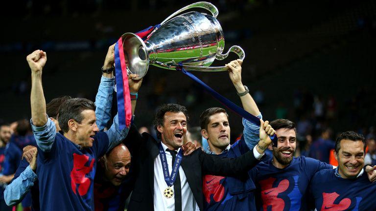 Luis Enrique manager of Barcelona