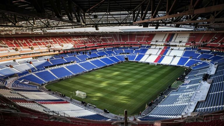 Lyon's Stade des Lumieres will host six Euro 2016 games this summer