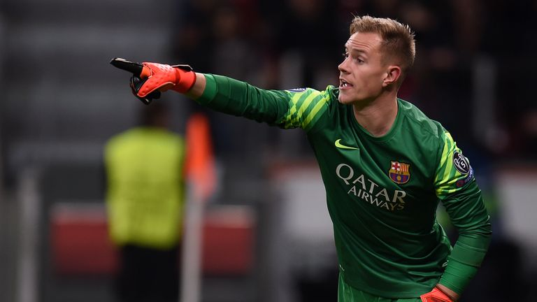 Marc-Andre Ter Stegen is expected to feature in domestic and European competitions following Claudio Bravo's exit