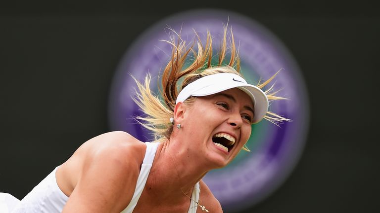Maria Sharapova  is  facing a ban from tennis