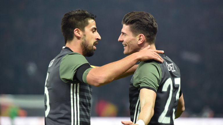 Germany have had to recall Mario Gomez (right)