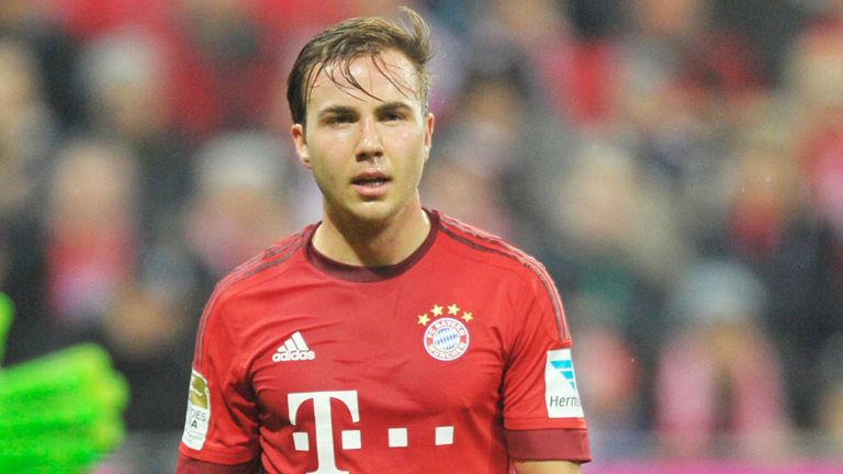 Mario Gotze has struggled for a place in the Bayern Munich team