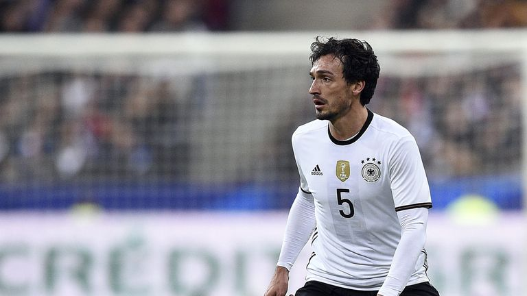 Germany defender Mats Hummels could be fit for their Euro 2016 opener against Ukraine