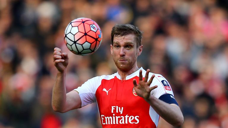 Mertesacker is a candidate to take over the Arsenal captaincy