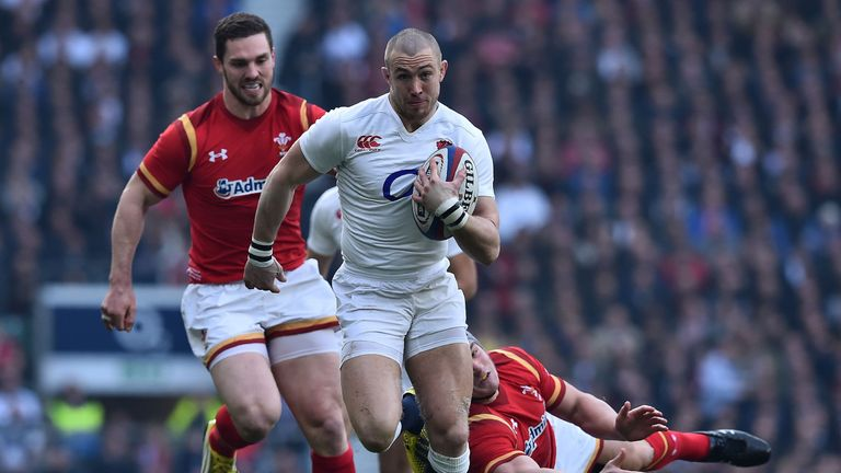 Mike Brown was one of the top performers as England defeated Wales to make it four from four in the Six Nations