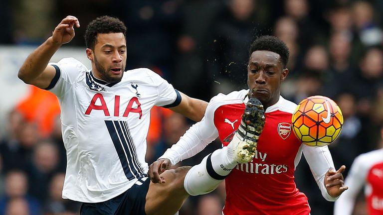 Mousa Dembele, Danny Welbeck, Tottenham v Arsenal, Premier League