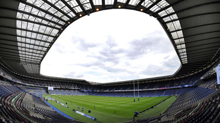 Murrayfield will host the 2016/17 European rugby union finals