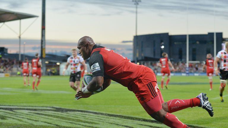 Nemani Nadolo scored twice in a Crusaders romp