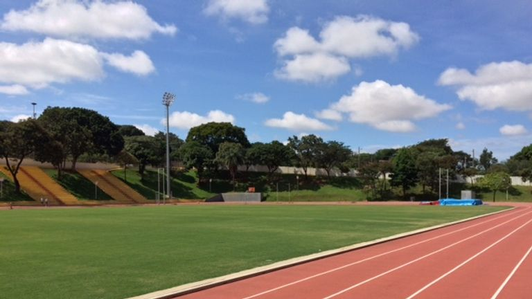 The running track Team GB's athletes will train on at Belo Horizonte will be the exact same surface found at the Olympic Stadium in Rio