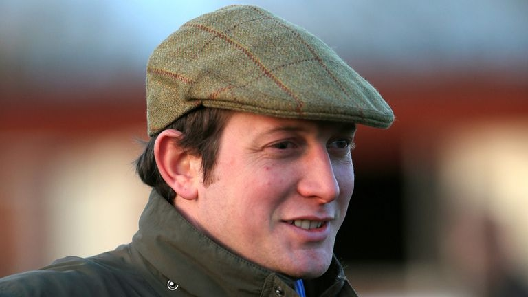 Trainer Ben Pauling at Ludlow Racecourse, Shropshire.