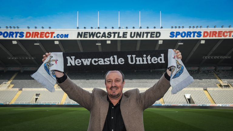 Rafa Benitez can walk away from Newcastle this summer if they are relegated