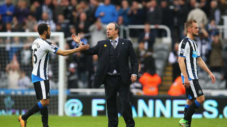 Rafael Benitez's Newcastle drew 1-1 with Sunderland