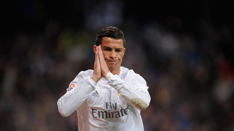 Cristiano Ronaldo cannot believe he missed another penalty