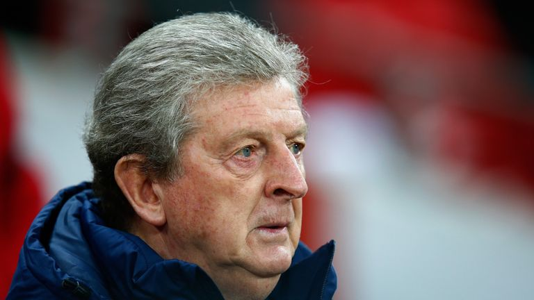 Roy Hodgson, manager of England looks on prior to the International Friendly match between England and Netherlands