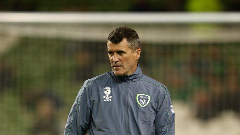 Republic of Ireland assistant coach Roy Keane