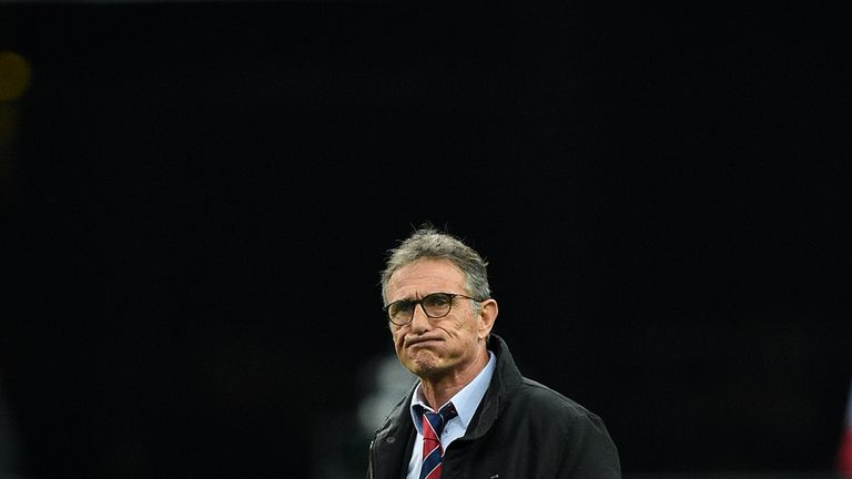 Head coach Guy Noves will remain in charge of France