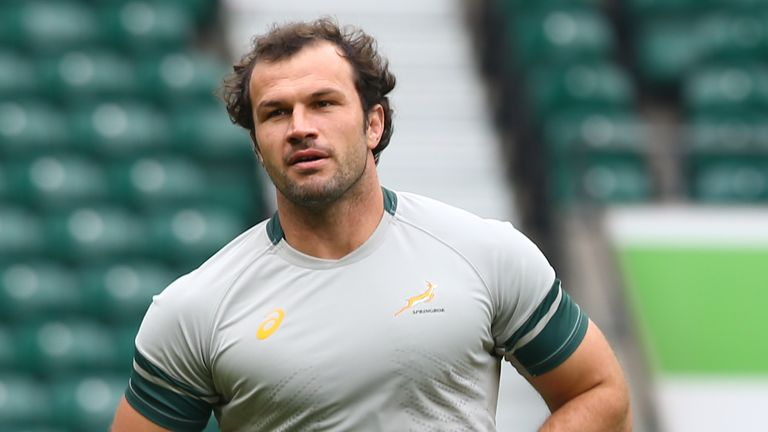 Montpellier's Bismarck Du Plessis made a huge impact for his side off the bench.