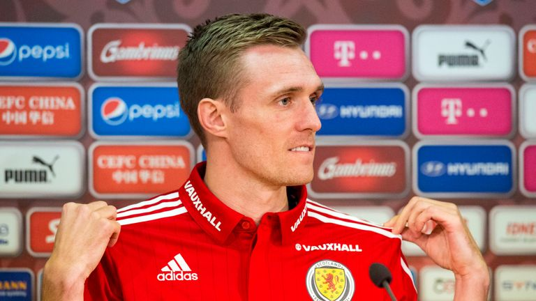 Fletcher is expected to captain Scotland in their friendly against the Czech Republic on Thursday