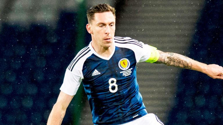 Scott Brown won his 50th cap for Scotland on Tuesday