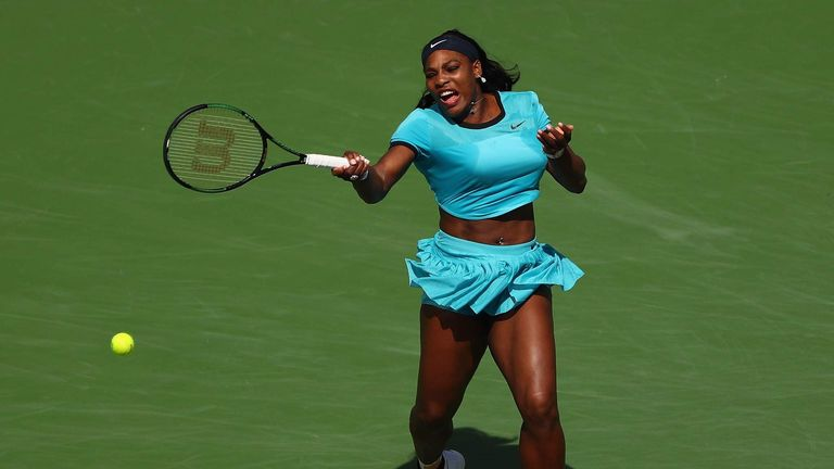 Serena Williams was named Laureus Sportswoman of the Year for a third time
