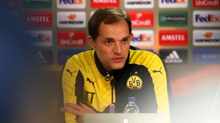 Thomas Tuchel was full of praise for Tottenham after Borussia Dortmund's Europa League victory